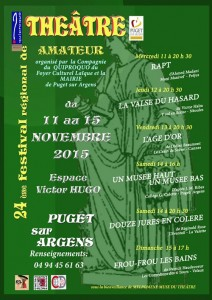Festival theatre amateur Puge